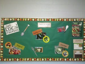CVS Cafeteria Bulletin Board_Fall 2012_1
